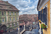 The Small Square of Sibiu — 图库照片