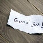 Good Job — Stock Photo #29932983