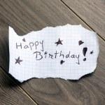Happy Birthday — Stock Photo #29932995