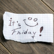 It's Friday — Foto de stock #29933025