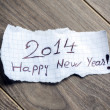 Happy new year 2014 — Stock Photo #29933027
