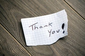 Thank you! — Stock Photo