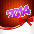 New 2014 year greeting card — Stock Vector #30098295