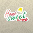 Home Sweet Home Background — Stock Vector #30151117