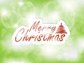 Merry Christmas background! — Stock Vector
