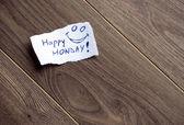 Happy Monday — Stock Photo