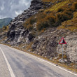 Stock Photo: Mountain road on Transfagarasan