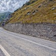 Mountain road on the Transfagarasan — Stock fotografie