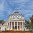 The Romanian Athenaeum — Stock Photo #30800455