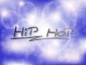 Sfondo di hip-hop! — Vettoriale Stock
