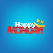 Monday Background — Stock Vector