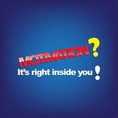 Motivational Background — Stock Vector
