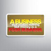 Business motivational background — Stock Vector