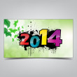 New year card. — Wektor stockowy #34933123