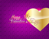 Valentine's Day background. — Stock Vector