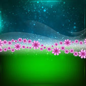 Spring or Summer abstract background. — Stock Vector