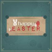 Happy Easter Vintage — Stock Vector