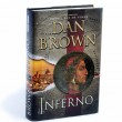 Постер, плакат: Inferno written by Dan Brown isolated on white