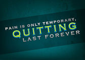 Quitting last forever — Stock Vector