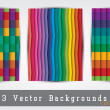 Colorful backgrounds set — Stock Vector #50568703