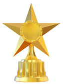 Abstract star award — Stock Photo