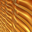 Abstract 3d metallic wavy background. 3d render. — Stock Photo #29197601
