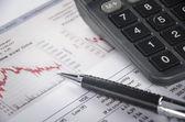 Financiële figuur — Stockfoto
