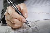 Numerical analyzing — Stock Photo