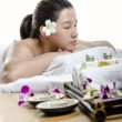 Portrait of beauty spa — Stock Photo
