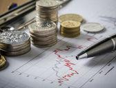 Money growth — Stock Photo