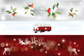 Various Christmas banner — Stock Vector