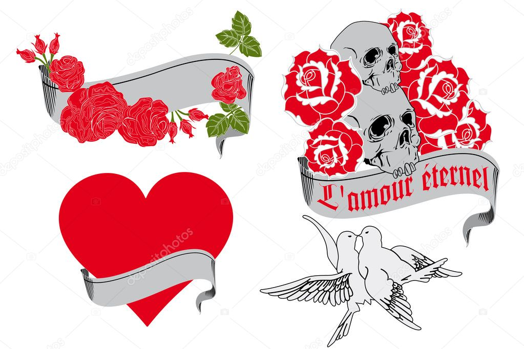 retro tattoo designs retro tattoo designs the love retro tattoo t    Retro Tattoo Designs