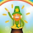 Card for Saint Patrick's Day — Stockvectorbeeld