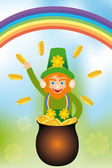 Card for Saint Patrick's Day — Stock Vector