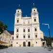 Collegiate church in Mondsee — Stock Photo