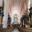 Stock Photo: Interior collegiate church