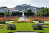 Mirabell gardens — Stock Photo