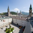Centre of Salzburg - Stock Photo