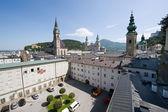 Centre of Salzburg — Stock Photo