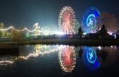 Ferris wheels — Stock Photo