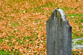 Friedhof — Stockfoto