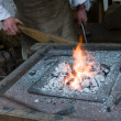 ストック写真: Blacksmith at work
