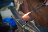 Blacksmith at work — Stock fotografie
