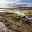 Stock Photo: Geothermal hot water