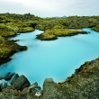 Stock Photo: The Blue Lagoon in Iceland