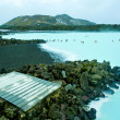 Stock Photo: Blue Lagoon resort