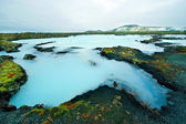 The Blue Lagoon in Iceland — 图库照片