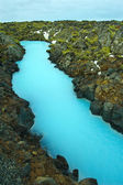 The Blue Lagoon in Iceland — Stock Photo