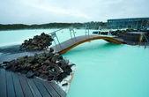 La localidad de laguna azul — Foto de Stock