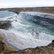 Gullfoss waterfall — Foto de Stock